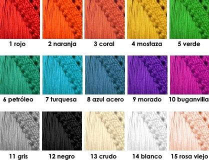 colores de cuquillo
